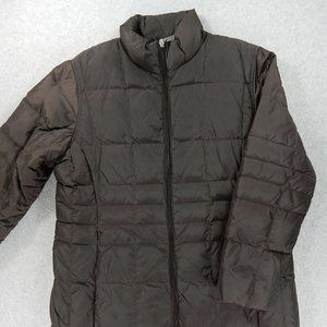 Lands End Down Reversible Coat (Womens Small)
